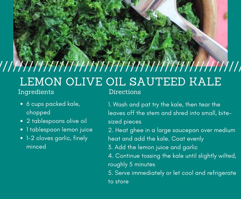 Lemon Sauteed Kale