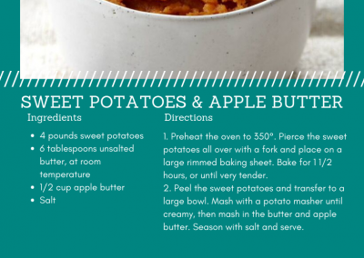 Sweet Potato and Apple Butter