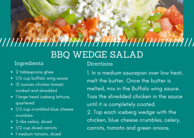 BBQ Wedge Salad