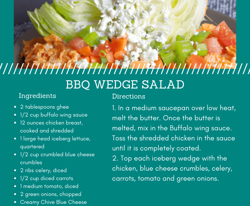 BBQ Wedge Salad